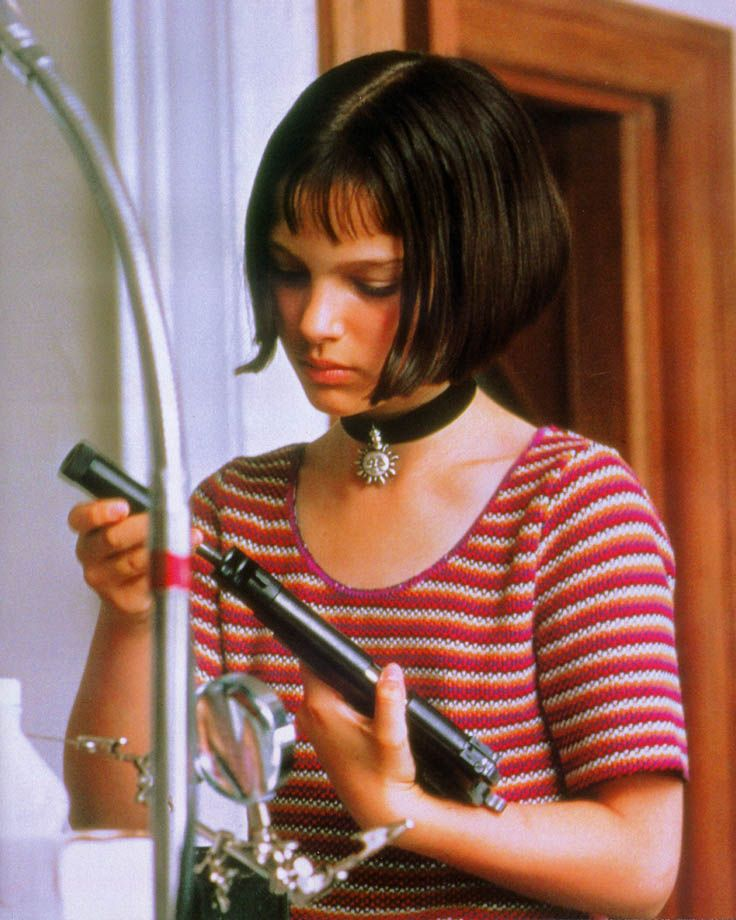 """A very young Natalie Portman as Mathilda in """"The Professional."""""""