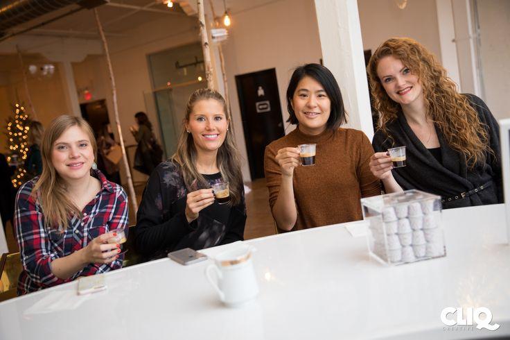 Nespresso Holiday Party - November 22nd, 2016   Photographer: Matt Feinstein (Cliq Creative)