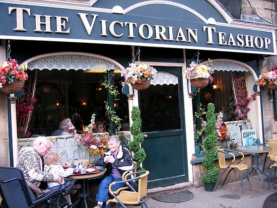 Matlock Bath, Derbyshire, English Tea Rooms. This place used to always intrigue me