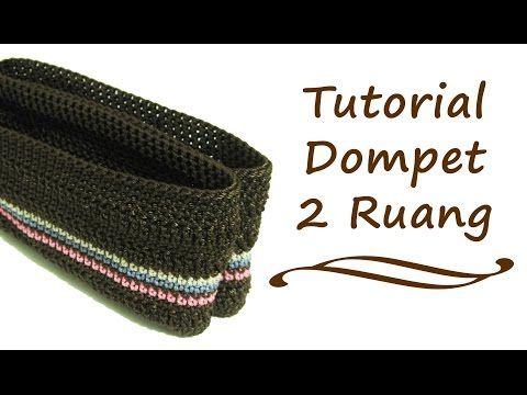 تعليم الكروشيه : شنطة مكياج مزدوجة بالكروشيه - Learn how to Crochet: Crochet Double Makeup Bag - YouTube
