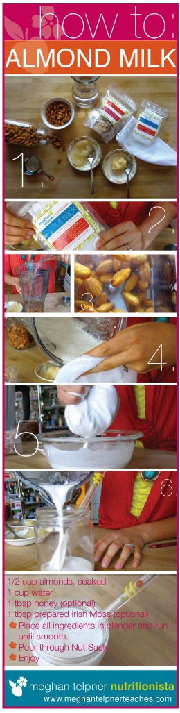 DIY almond milk. Ditch the packaging & preservatives and make it from scratch! #UnDiet