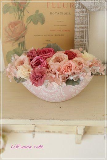 【今日の贈花】お客様のメール。お花が気持ちを運ぶ|Flower note の 花日記 (横浜・上大岡 アレンジメント教室)