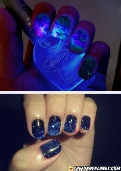 Awesome nail polish!! That is one of the coolest designs I've seen.