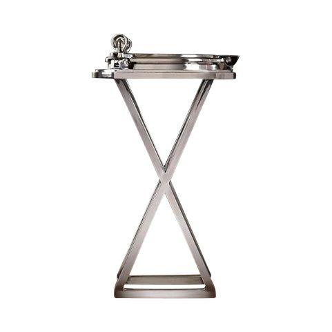 Метки: Журнальный стол, Круглый стол.              Материал: Металл.              Бренд: RESTORATION HARDWARE.              Стили: Лофт.              Цвета: Серый.