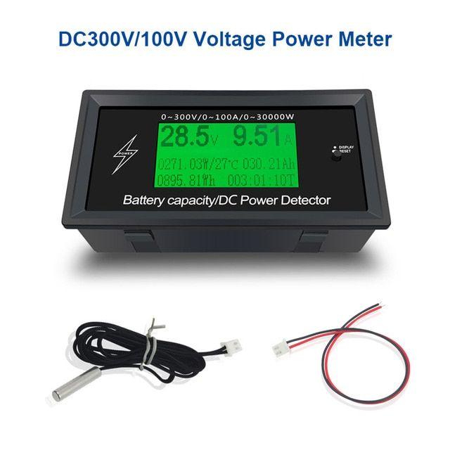 LCD Detector Voltmeter Ammeter USB Power Capacity Battery Current Meter Tester