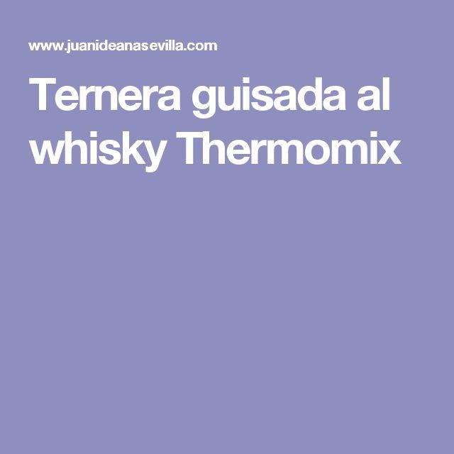 Ternera guisada al whisky Thermomix