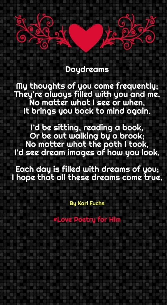 short rhyming love poems | Bae quotes | Love poems for him