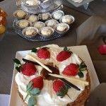 Angel cake & banoffee pies