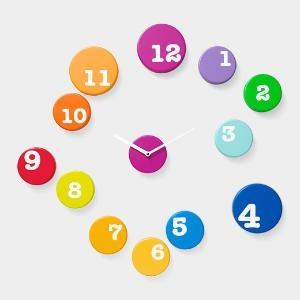 Fun Time Wall Clock | MoMA StoreDecor, Colors Clocks, Ideas, Moma Stores, Kids Room, Wall Clocks, Time Wall, Fun Time, Contemporary Clocks