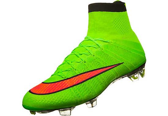 Electric Green Nike Mercurial Superfly Firm Ground Soccer Cleats | SoccerMaster.com