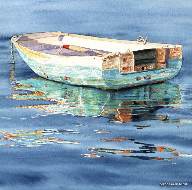Natural Landscape Art - Colleen Nash Becht ~ Watercolor