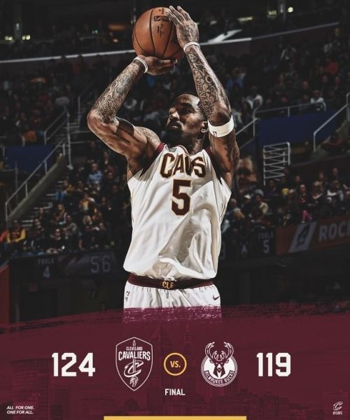 Back in the W column. #AllForOne (at Quicken Loans Arena) http://ift.tt/2AqH4BP