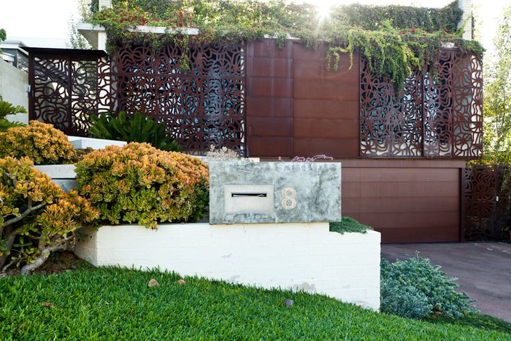 Modern landscaping exterior contemporary with garden decoration front entrance architect home garden decoration