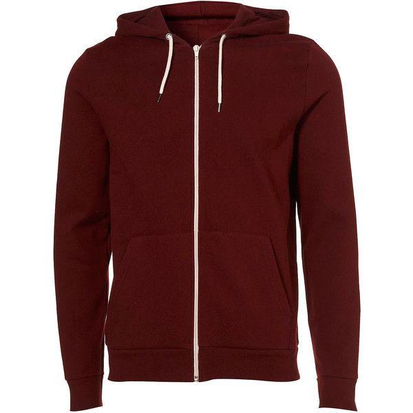 Burgundy Kangaroo Hoody (87 BRL) ❤ liked on Polyvore featuring tops, hoodies, men, sweaters, guys clothes, burgundy top, sweatshirt hoodies, hooded pullover, hoodie top and red hoodie