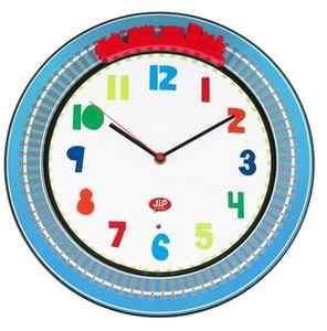 Paulas Furniture and Beds - HAPPY TRAFFIC TRAIN WALL CLOCK