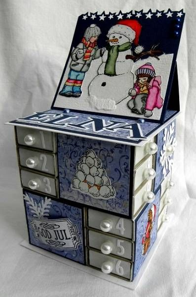 Advent calendars found on SplitCoastStampers (no direct link unless you're a member)