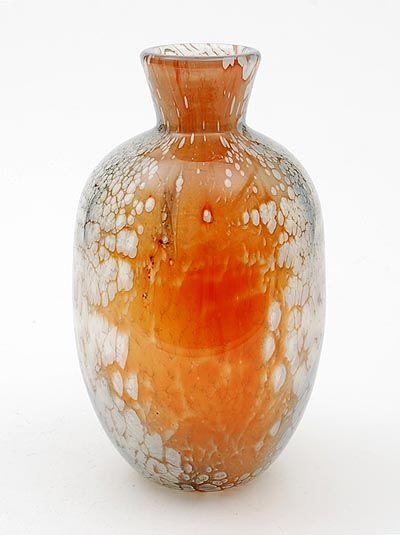 Leerdam Unica glass vase, 1946, A.D. Copier