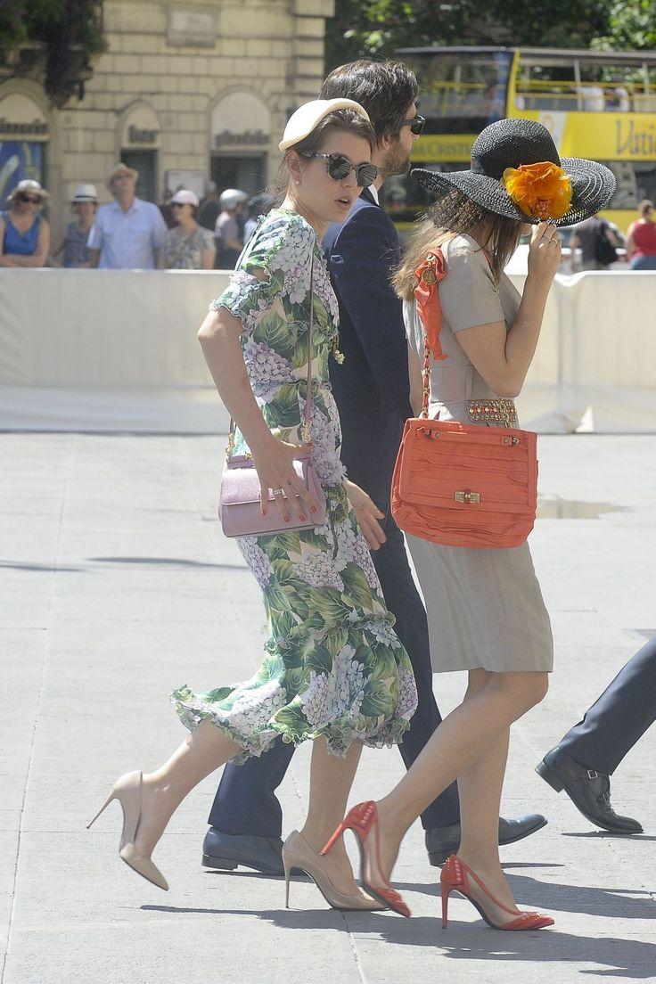 Charlotte Casiraghi and Dimitri Rassam - Heading to a Wedding in Rome 05/27/2017 | Celebrity Uncensored! Read more: http://celxxx.com/2017/05/charlotte-casiraghi-and-dimitri-rassam-heading-to-a-wedding-in-rome-05272017/