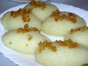 Polish Potato Dumplings Recipe from Gwizdaly Village - Pyzuchy Gwizduchy: Polish Pyzduchy Gwizduchy Dumplings
