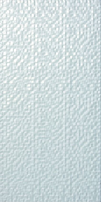 Tiles. Shiny Textured Tiles to add glamour to your space. From Nexon's Metallica collection. White