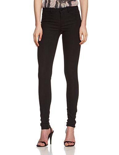 PIECES Damen Skinny Hose Pcjust Wear R.m.w. Legging/black, Gr. 36 (Herstellergröße: S/M), Schwarz