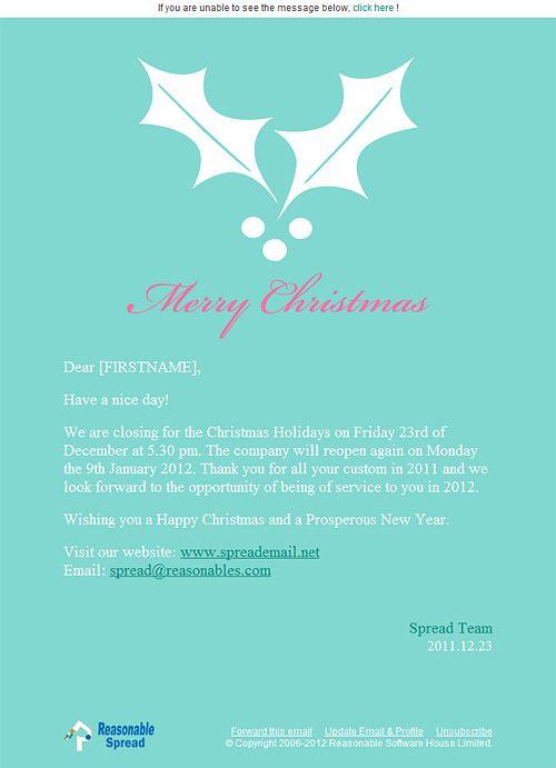 圣诞节eDM邮件模板