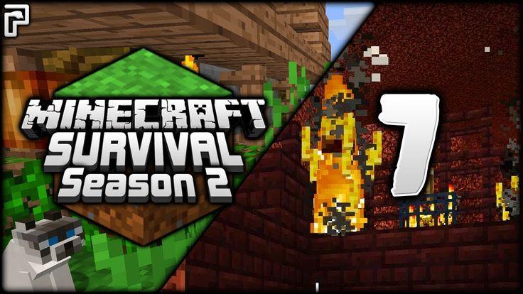 Minecraft Survival | Bad Blazes & Cunning Cats! | Let's Play Minecraft S...