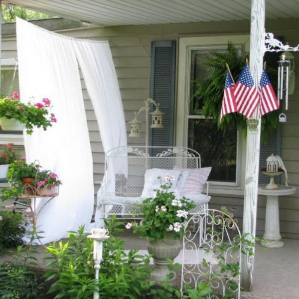 239 Best Shabby Chic Porches Images On Pinterest | Home, Balcony And Live