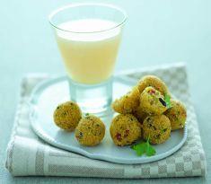 Polpettine di polenta con pomodori secchi e olive - Cucina Naturale