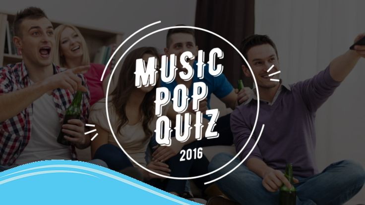 2016 Ultimate Pop Music Quiz