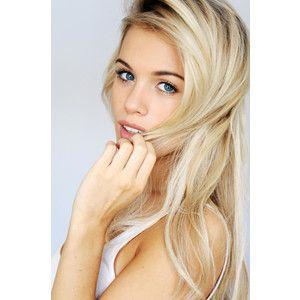 blonde hair | Tumblr - Polyvore
