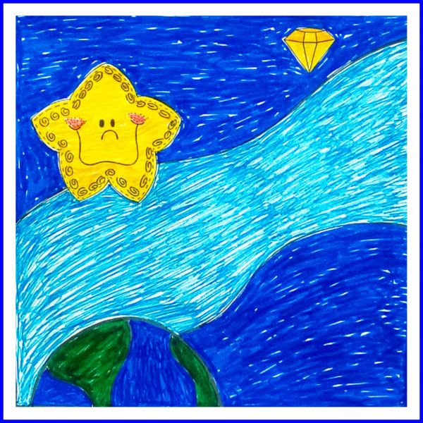 Twinkle Twinkle Little Star colouring page #education #esl #worksheets