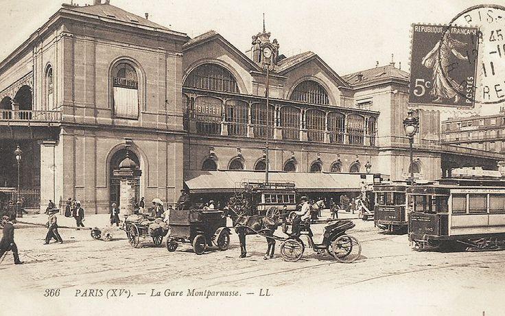 La Gare Montparnasse - Paris 15ème