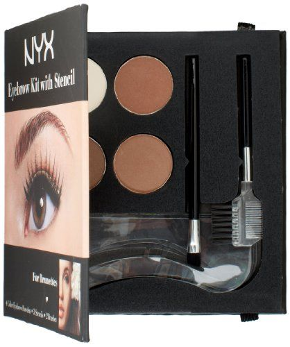 NYX Eyeybrow Kit with Stencil Brunettes has been published at http://www.discounted-skincare-products.co.uk/nyx-eyeybrow-kit-with-stencil-brunettes/