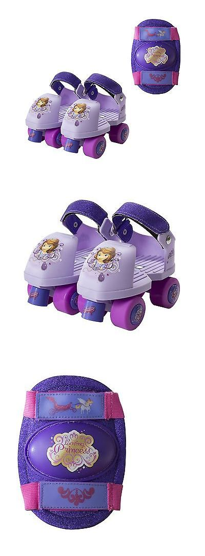 Other Inline and Roller Skating 1301: Playwheels Disney Sofia The First Glitter Kids Roller Skates With Knee Pads -... -> BUY IT NOW ONLY: $31.88 on eBay!
