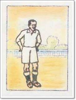 Luis Regueiro. Real Madrid. 1931-32. Campeón de Liga. Interior derecho.