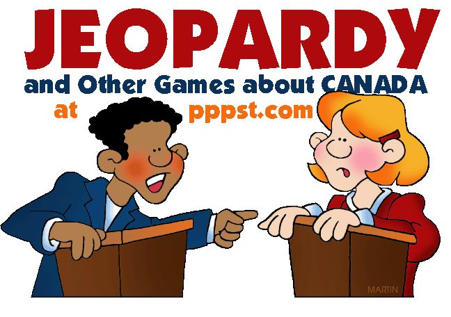 Jeopardy Games about Canada - FREE Presentations in PowerPoint format, Free Interactives and Games