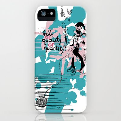 Τhe thread of life iPhone Case by Evgenia Drouga - $35.00