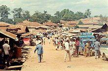 Koido Sierra Leona - Koidu Town es la capital y la ciudad más grande del distrito de Kono, rico en diamantes, en la provincia oriental de Sierra Leona