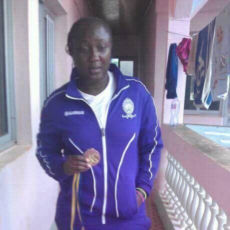 Quelle TRAGÉDIE ! Nous apprenons à l'instant le décès de notre footballeuse Jeanine Christelle DJOMNANG de Femina Stars d'Ebolowa durant un match de la sixiè