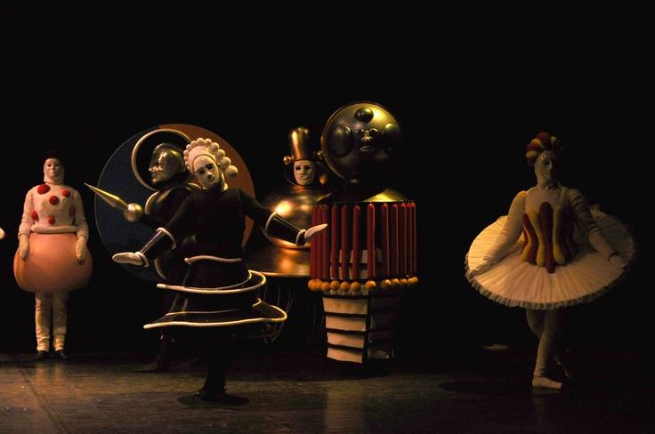 Ballet Triádico de Oskar Schlemmer
