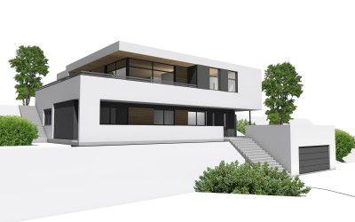 Vi bygger moderne, funkishus tilpasset dine individuelle behov. Våre arkitekter er med på hele prosessen, fra idé til ferdig bolig.
