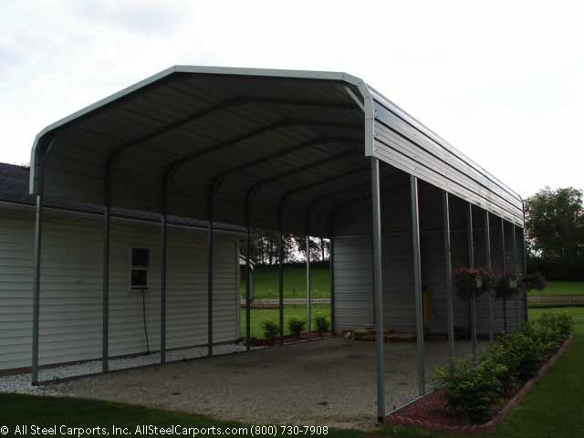 Rv Carports Metal Building Kits : Cheap metal carports buildings utility