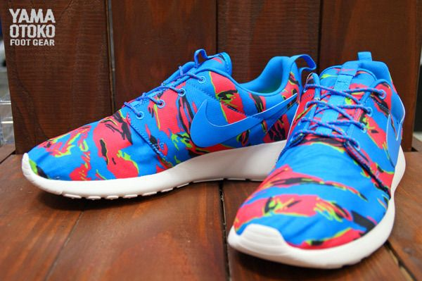 "Nike Roshe Run ""Multi Color Tiger Camo"""