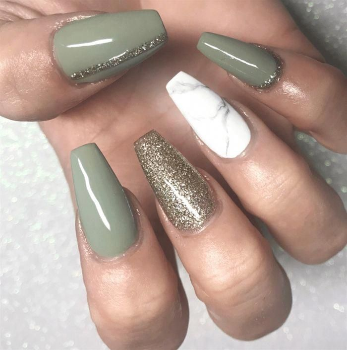 How to Wear Green Nail Designs and Not Fail in The Attempt #GreenNails #NailedIt...