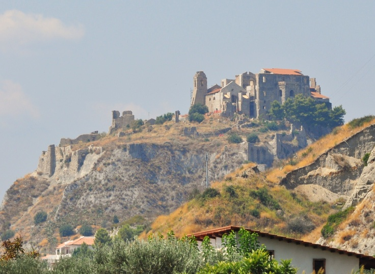 Castello di Roccella Ionica,Calabria,Italy. I had my first real kiss right here when I was 13. I'd love to go back as an adult.
