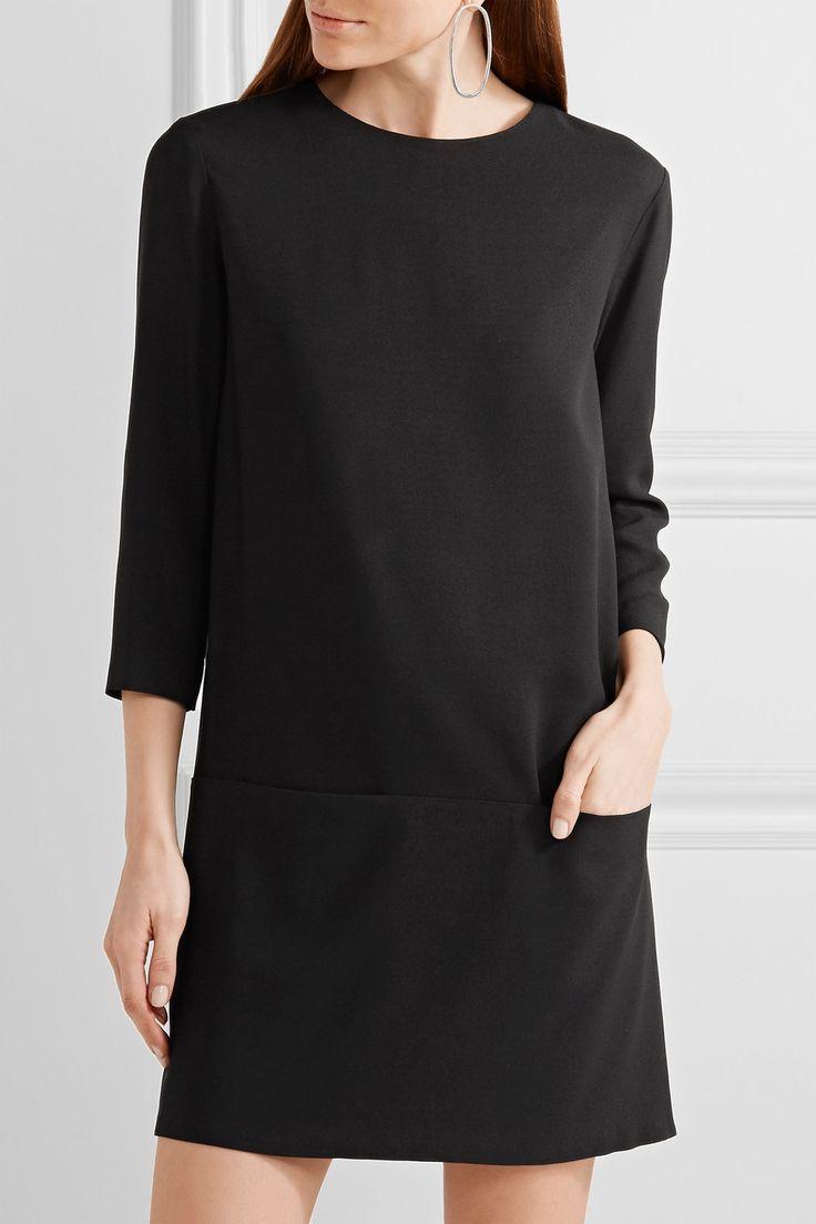 The Row | Marina stretch-crepe mini dress | NET-A-PORTER.COM