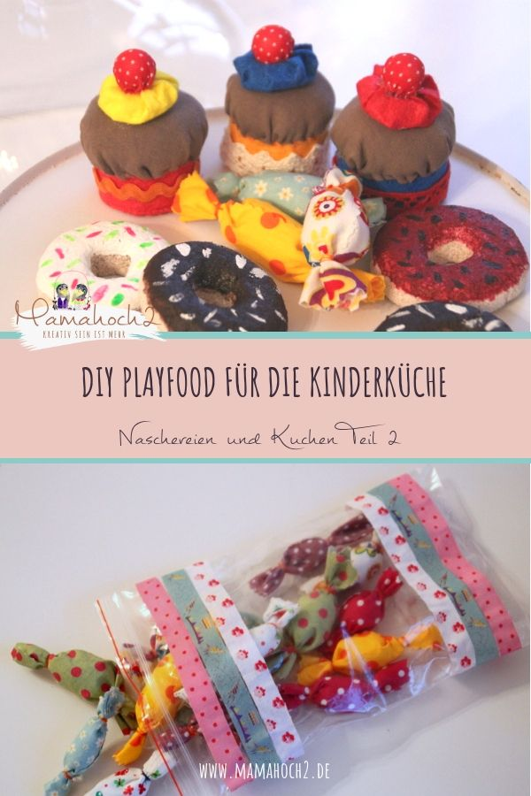 Kuchen Und Naschereien Fur Kinderkuche Und Kaufmannsladen Teil2