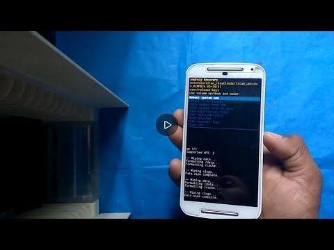 2) How to Factory reset your Motorola Moto G 2nd Gen device