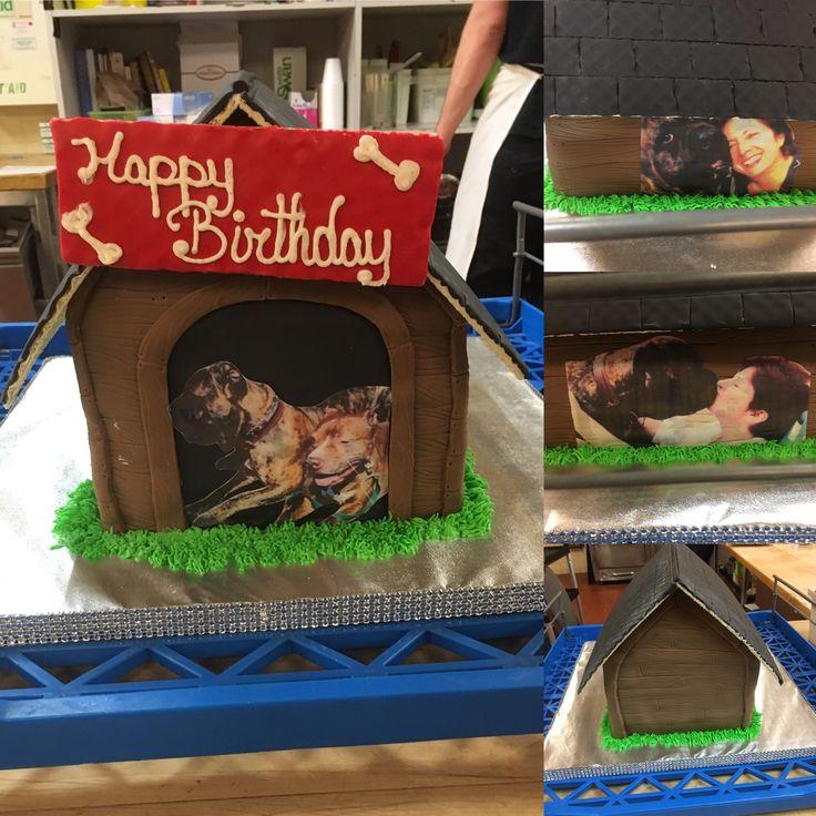 Dog house cake made by Natalie